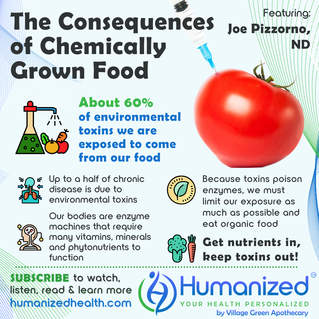 The Consequences of Chemically Grown Food