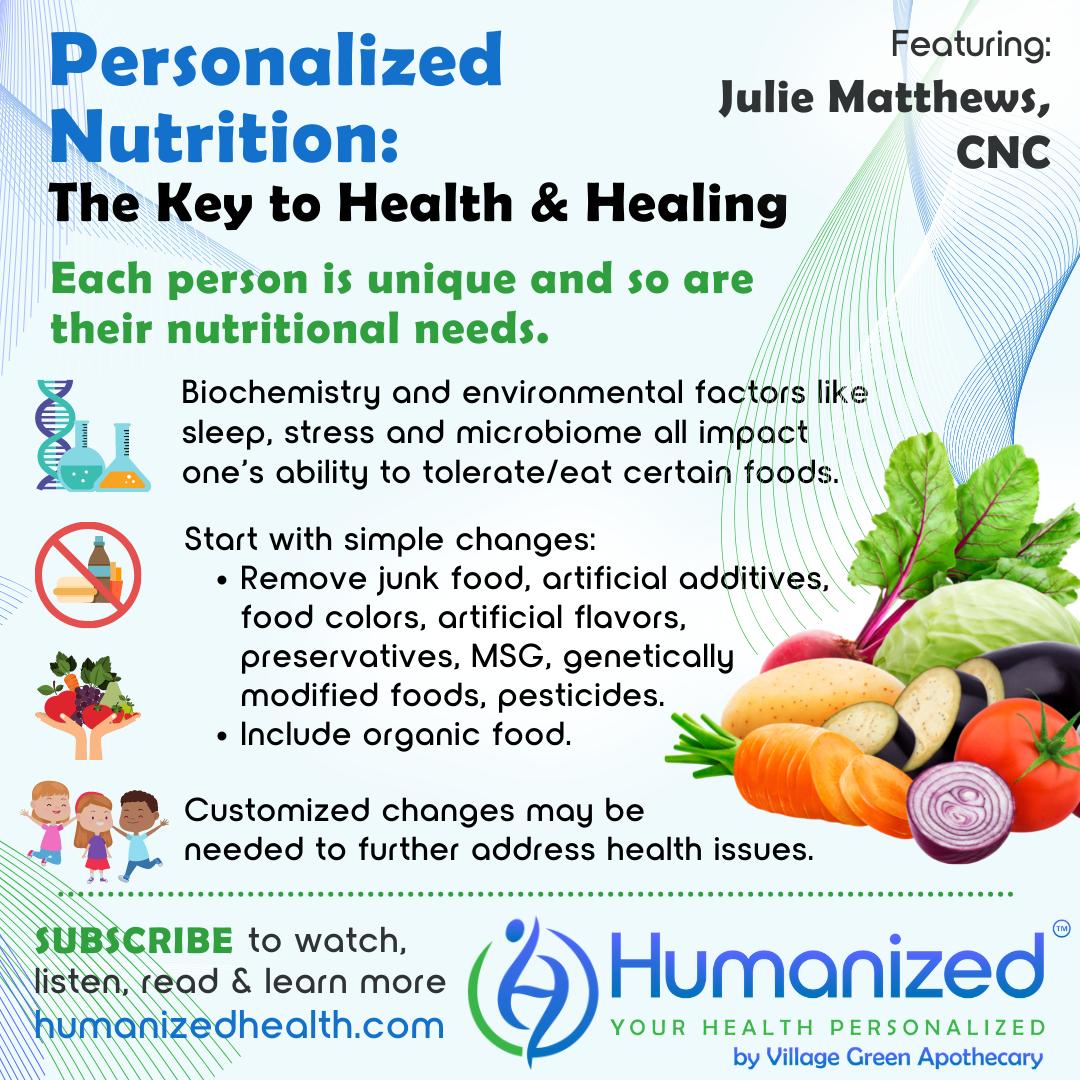 Personalized Nutrition: The Key to Health and Healing
