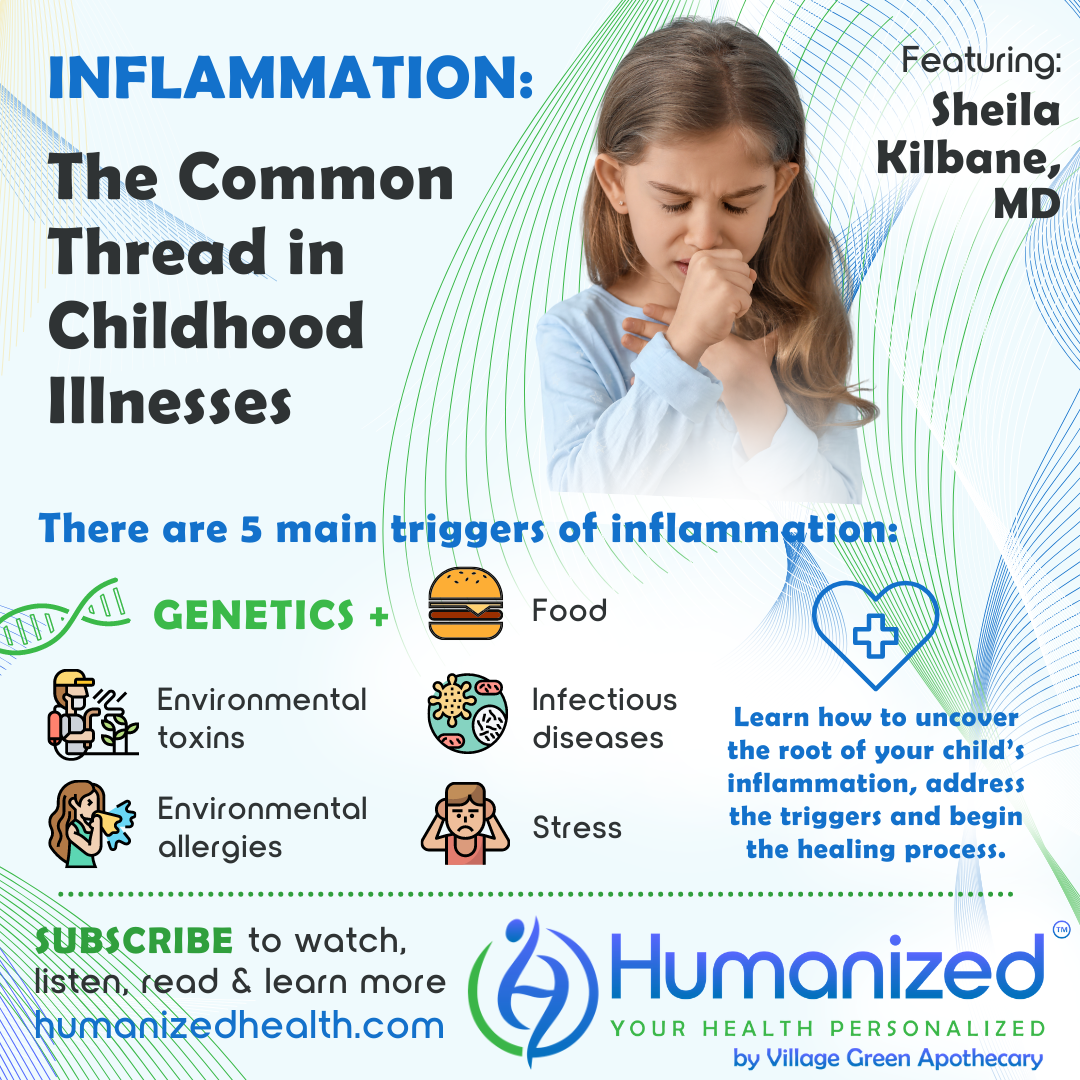 Inflammation: The Common Thread in Childhood Illnesses