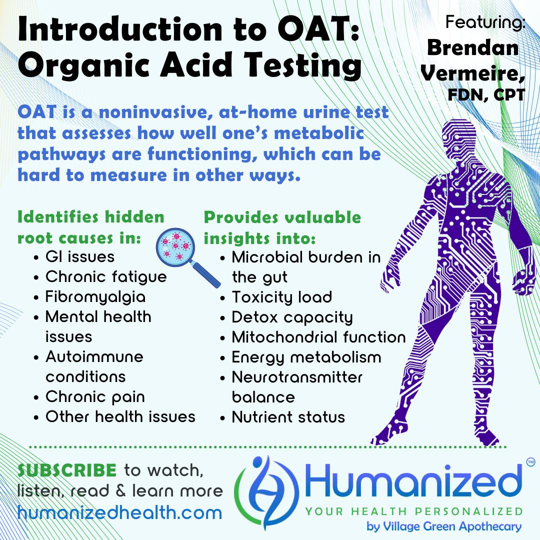 Introduction to OAT: Organic Acid Testing