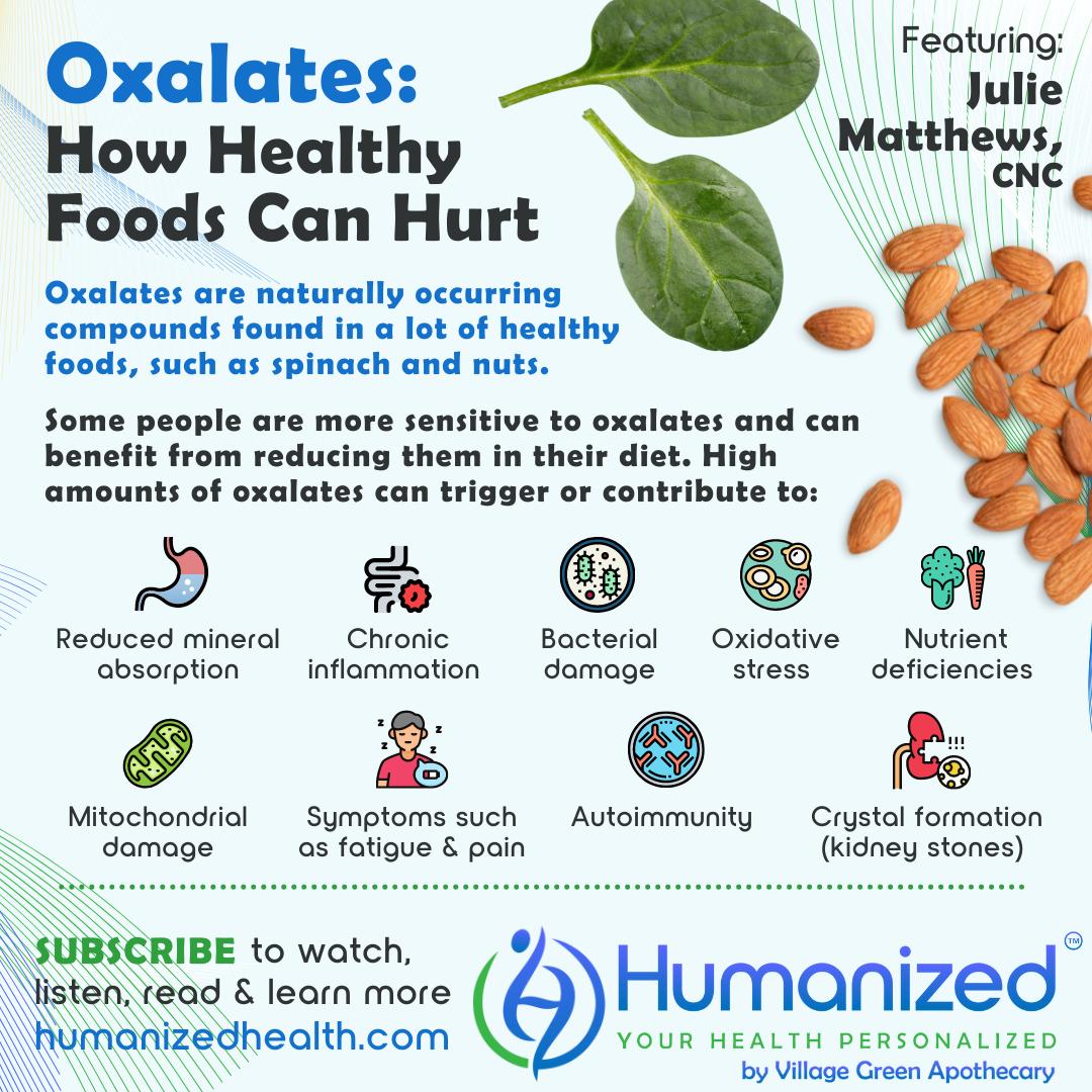 Oxalates: How Healthy Foods Can Hurt