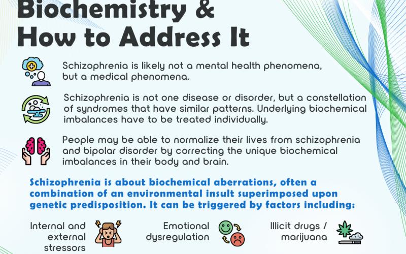 Schizophrenia: The Underlying Biochemistry & How to Address It