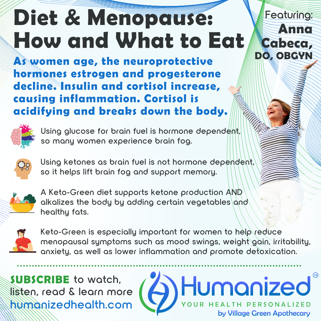 Diet and Menopause: How and What to Eat